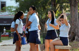 Trata de menores o prostitución infantil voluntaria en Cuba.
