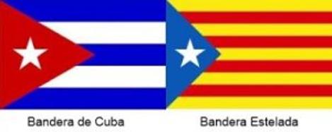 En este momento estás viendo La Bandera de los separatistas catalanes nació en Cuba.