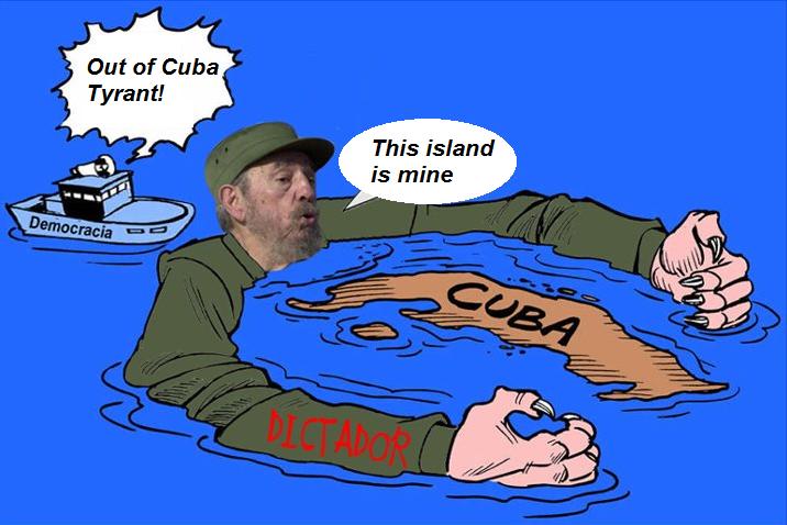 La UE apoya la tiranía castrista en Cuba.