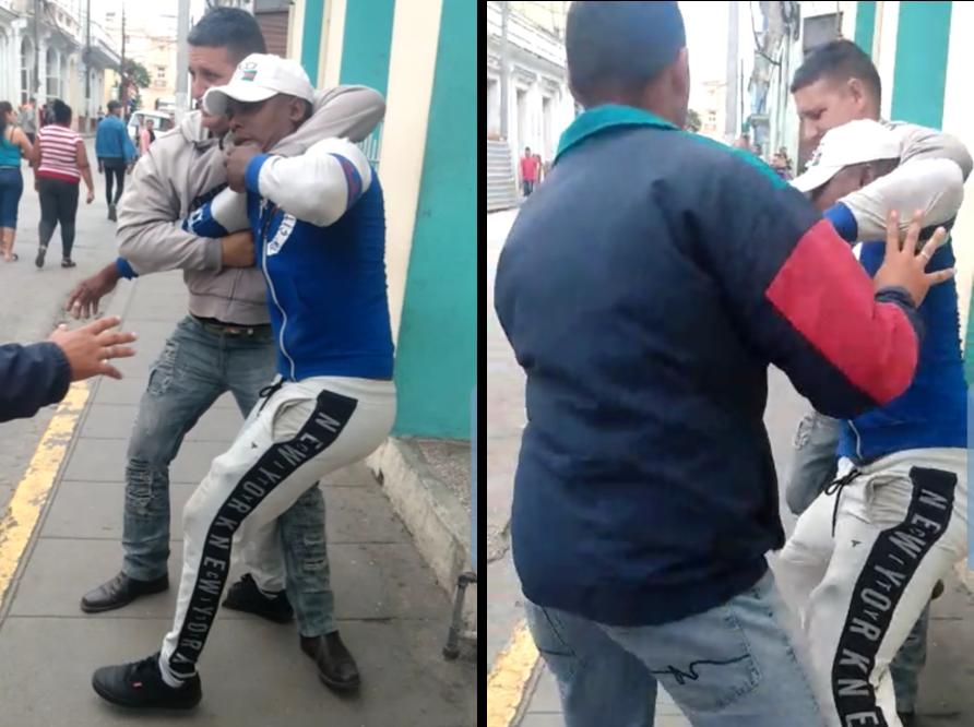Activistas detenidos. Policía reprime protesta de apoyo a Manuel Otero