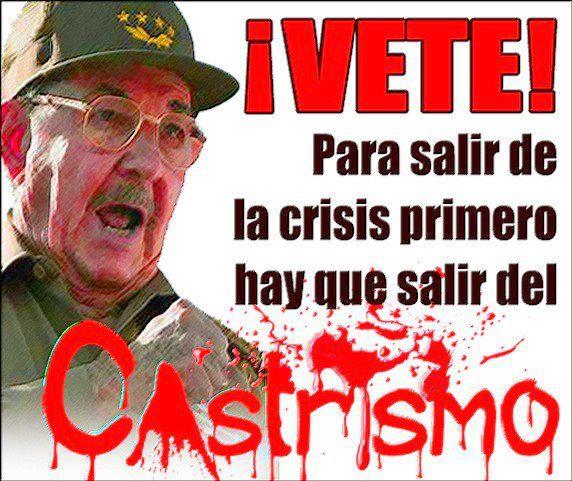 Cuba: Con comunismo no hay futuro.