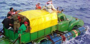 En 2020 los cubanos siguen huyendo de Cuba en balsa.