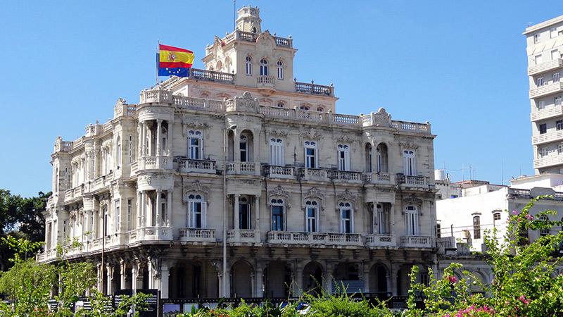 consulado de España en la Habana