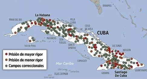 prisiones en Cuba