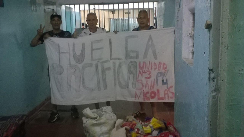Mother of political prisoner in Cuba goes on hunger strike in support of her son.