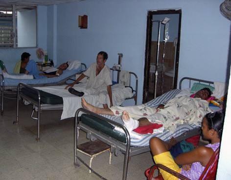 OCDH denuncia situación de hospitales y alimentación en Cuba.