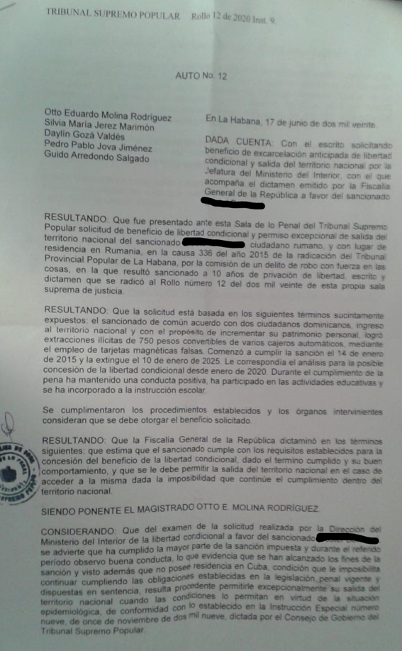 sentencias injustas  y corrupción de jueces en cuba