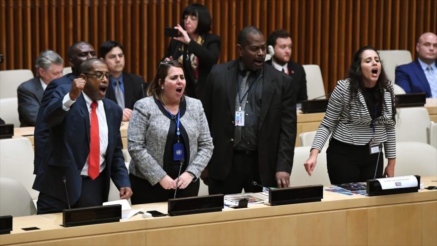 Lee más sobre el artículo Se alzan voces internacionales contra la dictadura cubana.