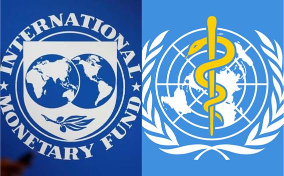 El FMI y la OMS responsables de la pandemia del Coronavirus